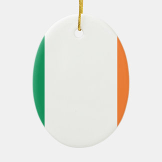 Low Cost! Ireland Flag Ceramic Oval Ornament