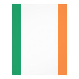 Low Cost! Ireland Flag Letterhead Template