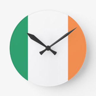 Low Cost! Ireland Flag Wall Clock