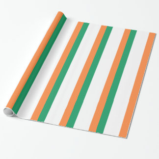 Low Cost! Ireland Flag Wrapping Paper