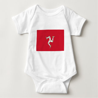 Low Cost! Isle of Man Baby Bodysuit