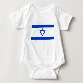 Low Cost! Israel Flag Baby Bodysuit