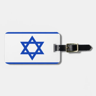 Low Cost! Israel Flag Bag Tag