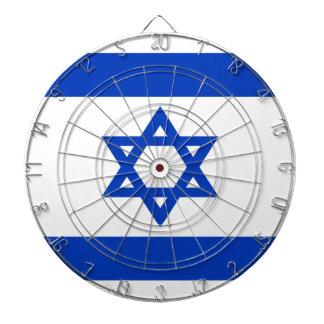 Low Cost! Israel Flag Dartboard