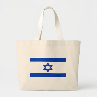 Low Cost! Israel Flag Large Tote Bag