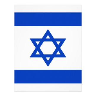 Low Cost! Israel Flag Letterhead