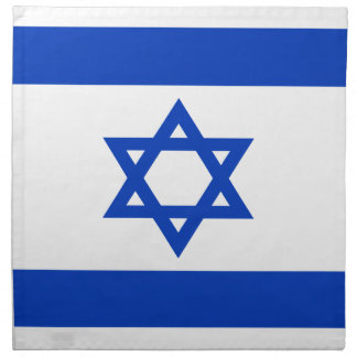 Low Cost! Israel Flag Napkin