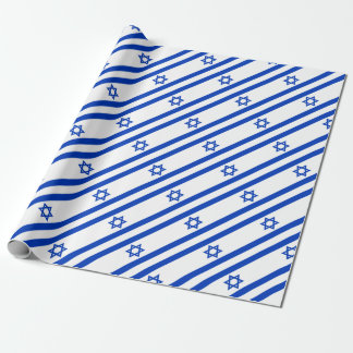 Low Cost! Israel Flag Wrapping Paper