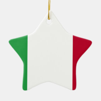 Low Cost! Italy Flag Ceramic Star Ornament