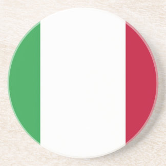 Low Cost! Italy Flag Coaster