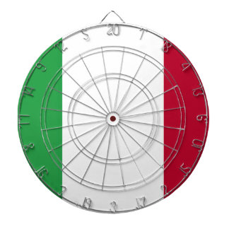 Low Cost! Italy Flag Dartboard
