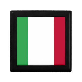 Low Cost! Italy Flag Jewelry Box
