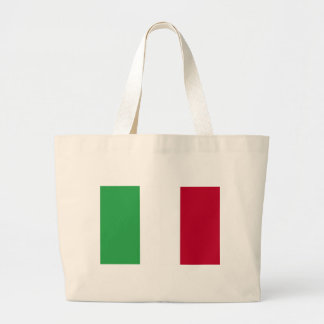 Low Cost! Italy Flag Large Tote Bag