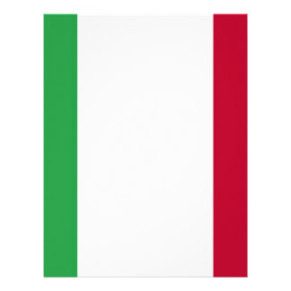 Low Cost! Italy Flag Letterhead Template