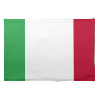 Low Cost! Italy Flag Placemat