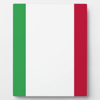 Low Cost! Italy Flag Plaque