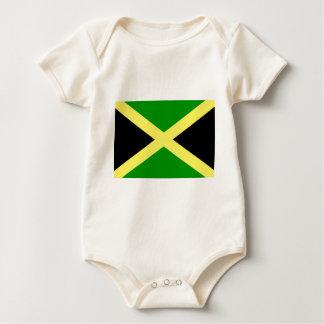 Low Cost! Jamaica Flag Baby Bodysuit