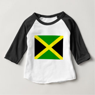 Low Cost! Jamaica Flag Baby T-Shirt