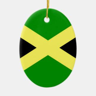 Low Cost! Jamaica Flag Ceramic Ornament