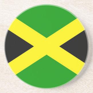 Low Cost! Jamaica Flag Coaster