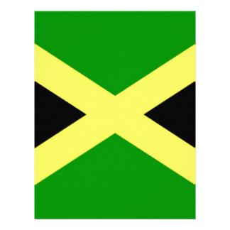 Low Cost! Jamaica Flag Letterhead Template