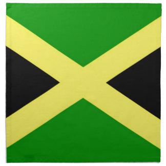 Low Cost! Jamaica Flag Napkin