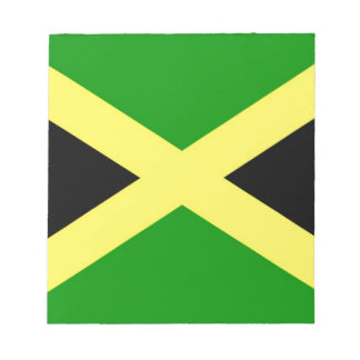 Low Cost! Jamaica Flag Notepad