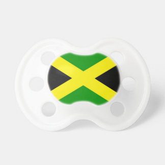 Low Cost! Jamaica Flag Pacifier