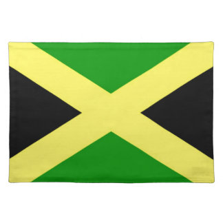 Low Cost! Jamaica Flag Placemat