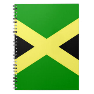 Low Cost! Jamaica Flag Spiral Notebook
