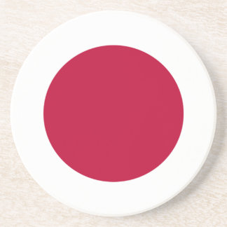 Low Cost! Japan Flag Coaster
