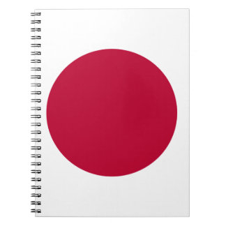 Low Cost! Japan Flag Spiral Notebook