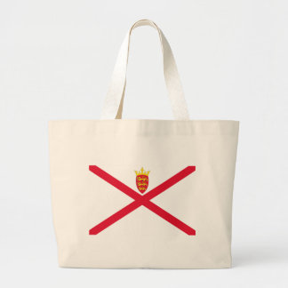 Low Cost! Jersey Flag Large Tote Bag