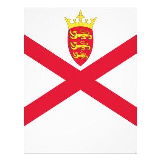 Low Cost! Jersey Flag Letterhead