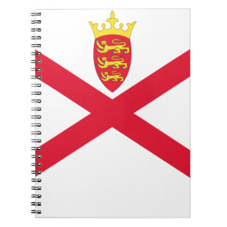 Low Cost! Jersey Flag Notebook