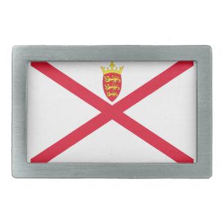 Low Cost! Jersey Flag Rectangular Belt Buckle