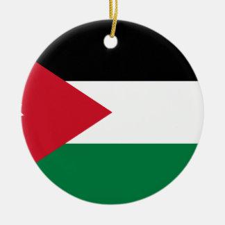 Low Cost! Jordan Flag Ceramic Ornament