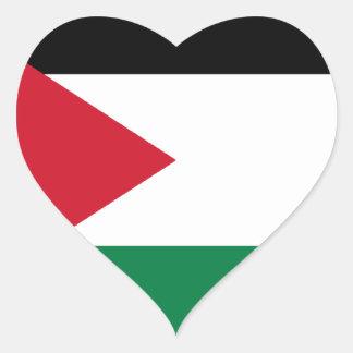 Low Cost! Jordan Flag Heart Sticker