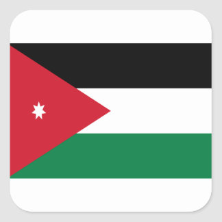 Low Cost! Jordan Flag Square Sticker