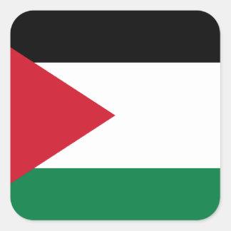 Low Cost! Jordan Flag Square Sticker