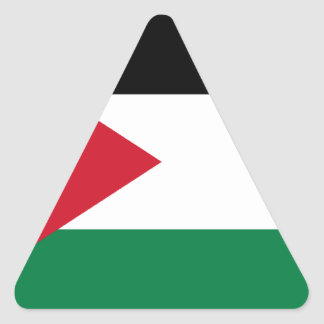 Low Cost! Jordan Flag Triangle Sticker