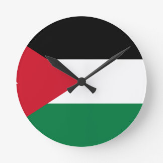 Low Cost! Jordan Flag Wallclock