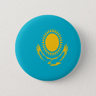 Low Cost! Kazakhstan Flag 2 Inch Round Button
