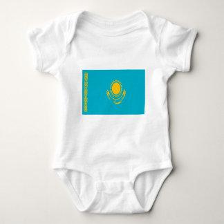 Low Cost! Kazakhstan Flag Baby Bodysuit