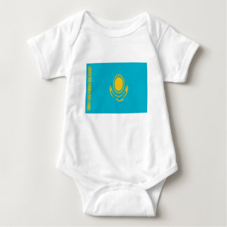 Low Cost! Kazakhstan Flag Baby Bodysuit