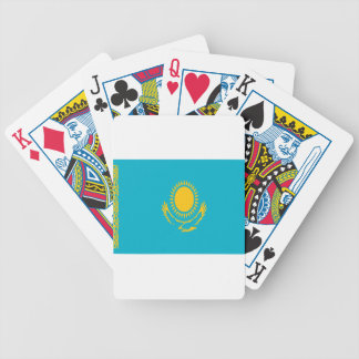 Low Cost! Kazakhstan Flag Bicycle Playing Cards