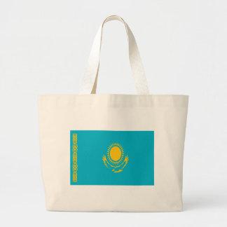 Low Cost! Kazakhstan Flag Large Tote Bag
