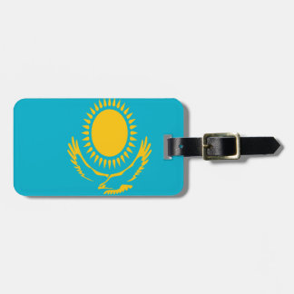 Low Cost! Kazakhstan Flag Luggage Tag