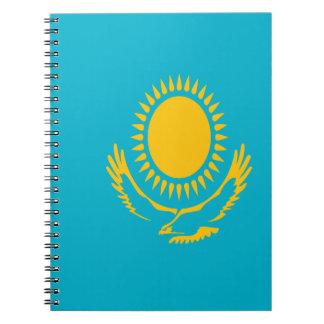 Low Cost! Kazakhstan Flag Notebooks