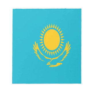 Low Cost! Kazakhstan Flag Notepad